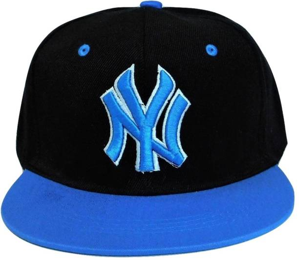 e54395d8184 Fasuch Boys Cotton Hip Hop Ny Caps Blue Cap