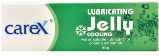 CAREX Lubricating Mint Flavor Jelly Cooling, 60g Condom