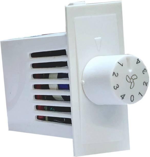 HI-PLASST SWITCH MODULAR 4 STEP - 1PC FAN REGULATOR Step-Type Button Regulator