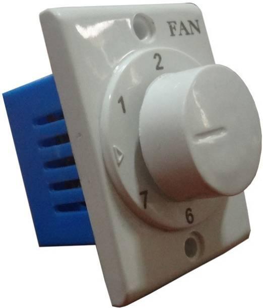 HI-PLASST SOCKET 7 STEP -1PC FAN REGULATOR Step-Type Button Regulator
