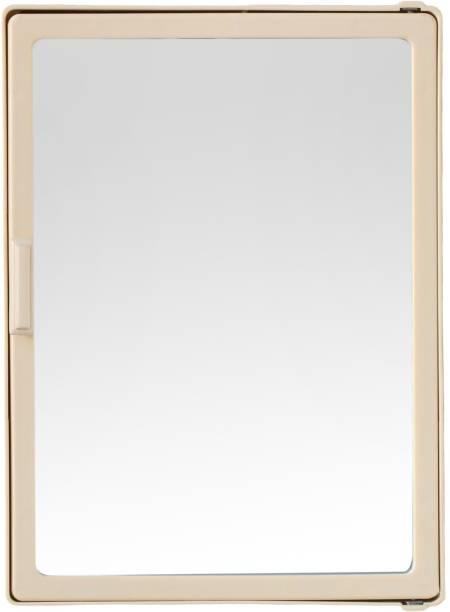 Zahab Style Ivory Single Door Mirror Surface Mounting Medicine Cabinet