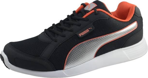 bcf3f67118d8a6 Puma Puma Men s Electro Idp Black Running Sports Shoes Walking Shoes For Men