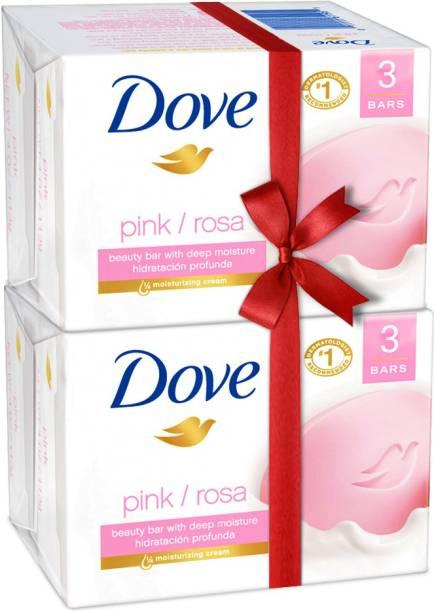 DOVE Pink Rosa Soap Super Saver Pack
