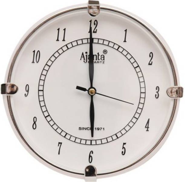 AJANTA Analog 18.8 cm X 18.8 cm Wall Clock