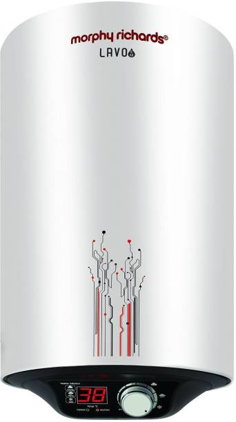 Morphy Richards 15 L Storage Water Geyser (LAVO EM, White)