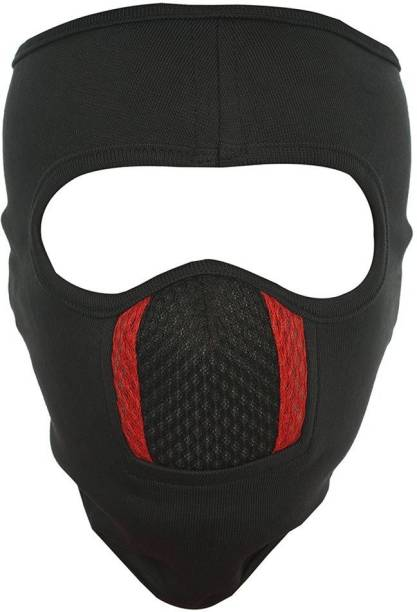 H-Store Black, Red Bike Face Mask for Men & Women