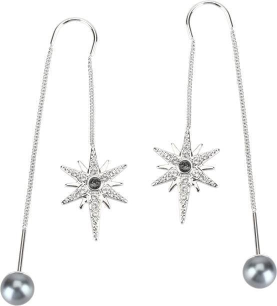 Swarovski 5230603 Circle Pierced Earrings Medium Metal Earring Set