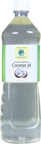 iFarmerscart Unfiltered Coconut Oil Plastic Bottle
