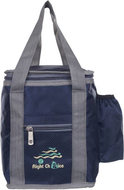 RIGHT CHOICE School and Office tiffin bags Lunch,Box,Bag,Lunch Box Insulated Bag Keep Food Hot and Warm For everyone Carrying Tiffin and Food Container | Stylish and Attractive | Leak-Proof and BPA Free | Bag Capacity :4L | Double zipper Bag | Return Gift For Men & Women Blue (LunchBag.2010) (Nursery/Play School) Waterproof Lunch Bag