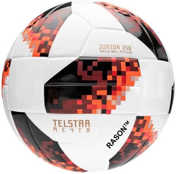 RASON Telestar Red Size 5 Match Ball Football - Size: 5