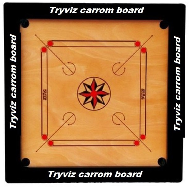 card game set wood handcrafted india full house place to call home box set Tryviz 20 * 20 inch Sports High Wood 8 mm Carrom Board Game With Coins Set