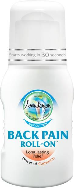 Amrutanjan Back Pain Roll On Liquid