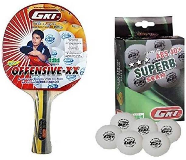 GKI Offensive XX and Superb Combo Table Tennis Kit