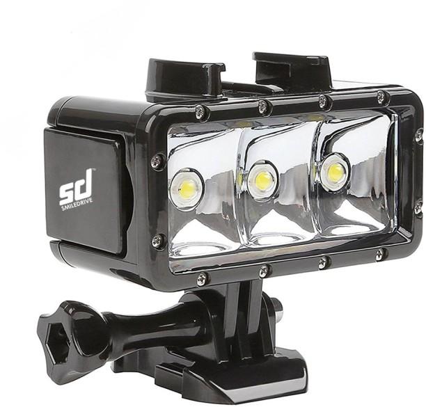 Superbe Smiledrive Waterproof Underwater GoPro Action Camera LED Flash Light With 3  Lighting Modes U0026 Built
