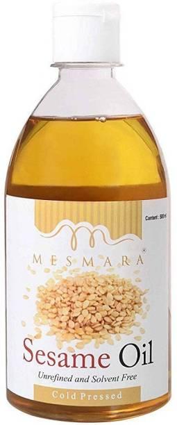 Mesmara Sesame Oil Sesame Oil Plastic Bottle