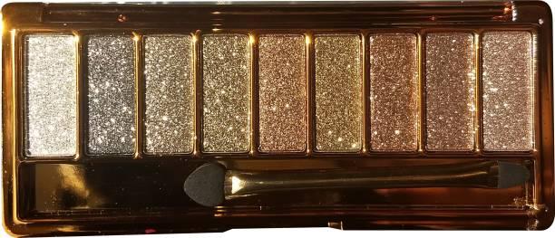 Miss Rose Eye Makeup 18 Color Metallic Glitter Eyeshadow Palette Highlighter Eye Shadow Eye Shadow