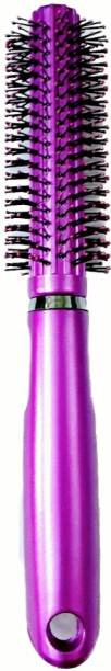 ClueSteps Soft Round Hair Comb or Hair Brush (Hair Brush for Unisex) Purple in color