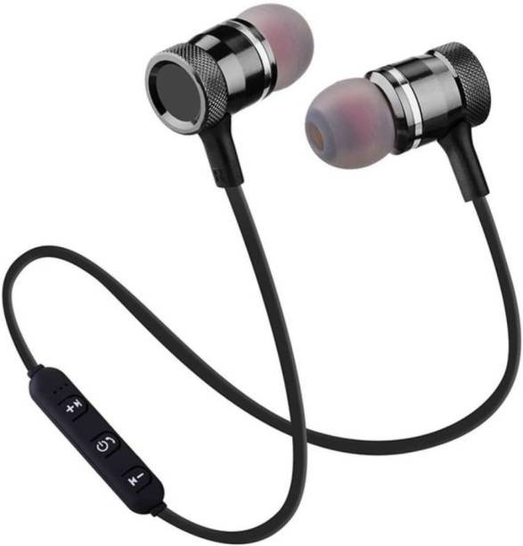 finest Magnet Bluetooth Music Headphone Headset Sports Earphone Bluetooth Headset with Mic