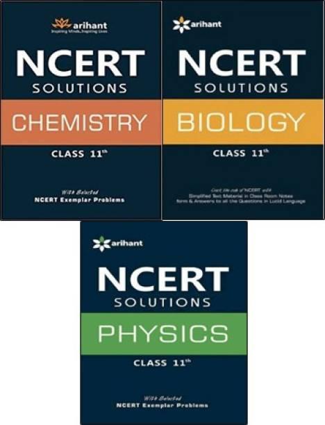 NCERT Solutions Class-11 ( Physics + Chemistry + Biology ) Set Of 3 Books (Paperback, Arihant Expert)7