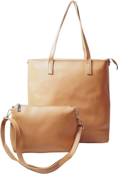 4ec06412477 Classic Fashion Women Casual, Formal, Evening/Party Brown Leatherette Sling  Bag