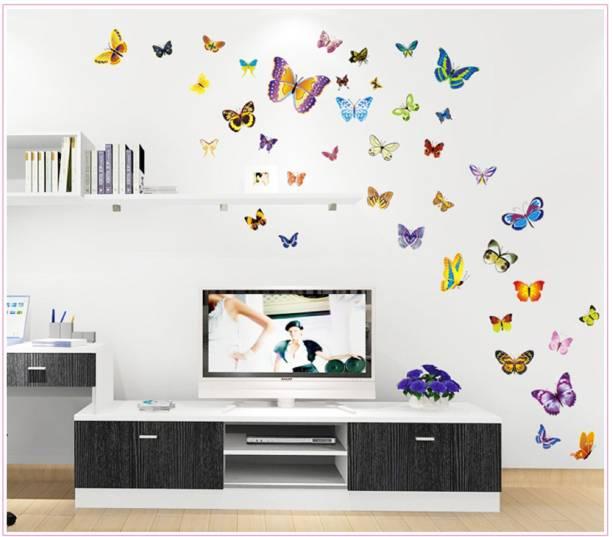 Jaamsoroyals Medium PVC Vinly Wall Stickers