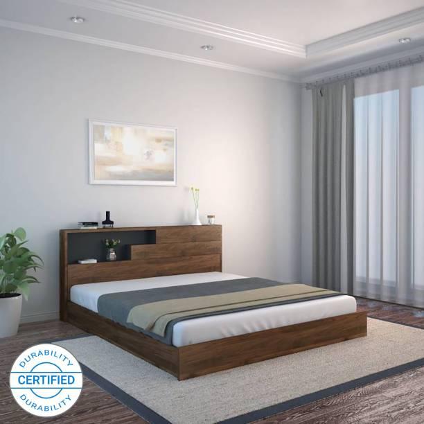 @Home by nilkamal BORDEN Engineered Wood Queen Bed