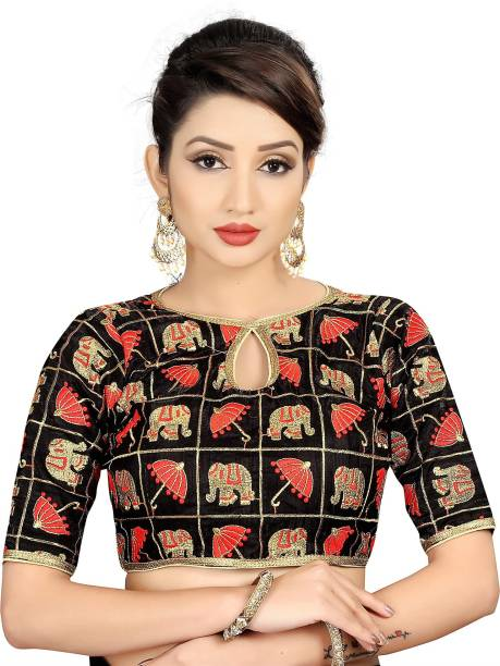 fe99ef884d517 Red Blouses - Red Blouses Designs Online at Best Prices In India ...