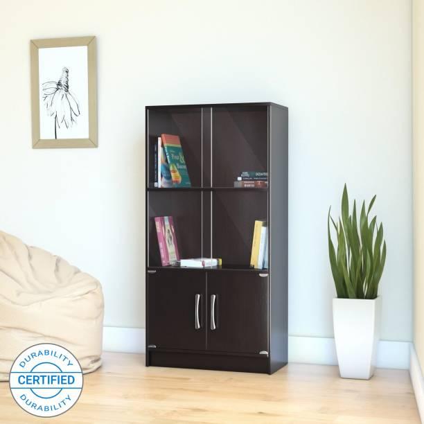 Flipkart Perfect Homes Engineered Wood Close Book Shelf