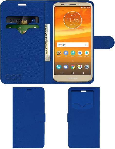 ACM Flip Cover for Motorola Moto E5 Plus