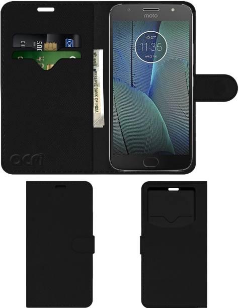 ACM Flip Cover for Motorola Moto G5s Plus
