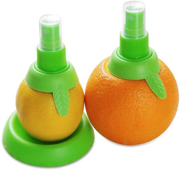 HOUSE OF QUIRK Plastic Hand Juicer As Seen On Tv Innovative Citrus Mist Spray For Your Kitchen - Just Screw It On Top Of A Citrus Fruit And Spray The Juice