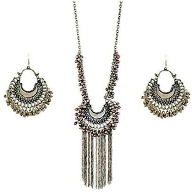 Silver Necklace - Buy Silver Necklace online at Best Prices in India