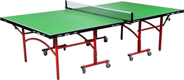 Stag Elite Green Top Rollaway Indoor Table Tennis Table