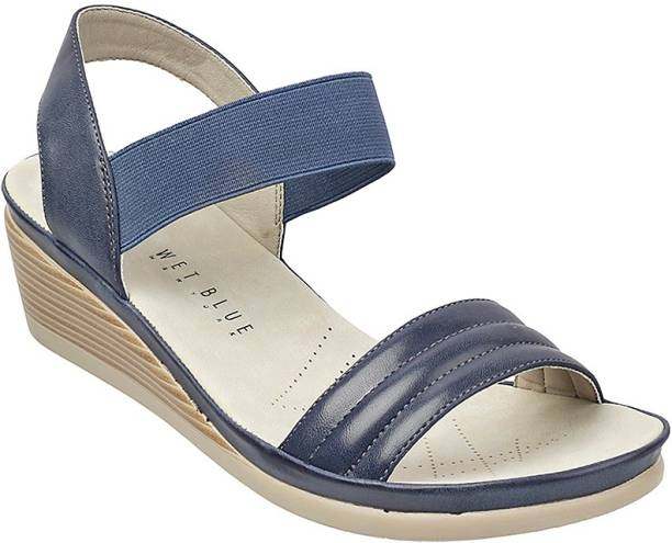 1847f3c6725 Wet Blue Wedges - Buy Wet Blue Wedges Online at Best Prices In India ...