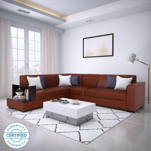 innovative design 7f1db e2014 L Shaped Sofa: Buy L Shaped Corner Sofa Sets Online at Best ...