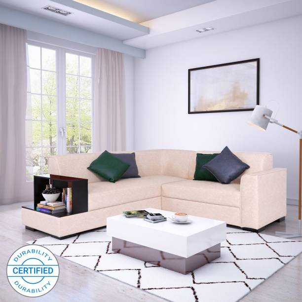 Flipkart Perfect Homes Conwy Leatherette 5 Seater  Sofa