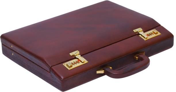 Brand Leather Bl201 Medium Briefcase For Men