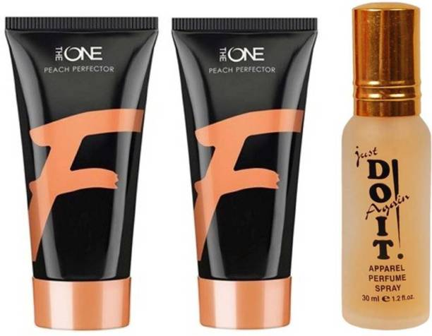 Oriflame Sweden two Peach Perfector Fair Foundation (Peach) 30 ml with one do it perfume 30 ml