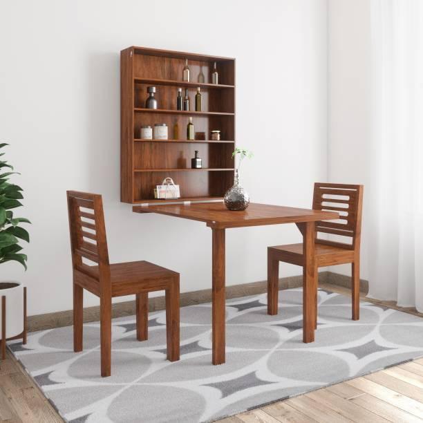 Balaji Wooden Karent Sheesham Solid Wood 2 Seater Dining Set