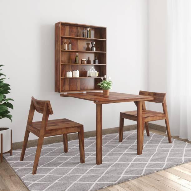 Balaji Gordon Sheesham Solid Wood 2 Seater Dining Set