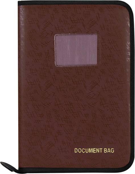 Toss Faux Leather File Folder