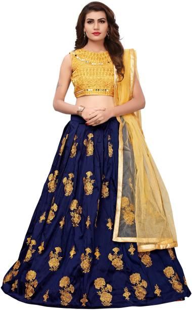 e8d8de42b583 Yellow Lehenga - Buy Yellow Lehenga Cholis Online at Best Prices In ...