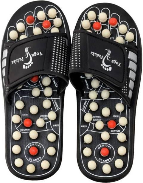 55b910d4adf6 Healthllave Accu Paduka Acupressure Slippers Magnetic Accu Paduka Acupressure  Slippers with Spring Foot Massage Massager