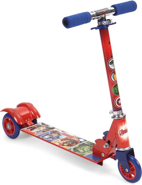 DISNEY Avengers Super Hero 3 wheel scooter - Blue & Red