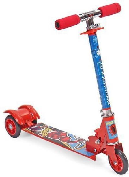 DISNEY Spiderman Thwip 3 wheel Scooter - Blue & Red