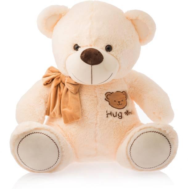 Dimpy Stuff Bear W/Hug Me Emb. Cream  - 50 cm