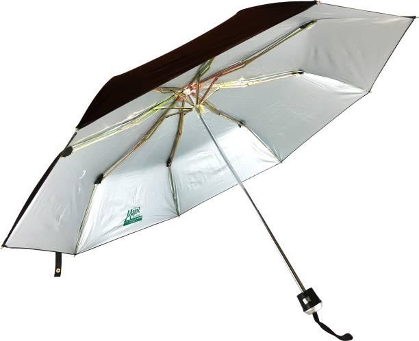 136c08a304226 KC Paul & Sons Major 3 Fold Black Premium Quality Strong & Durable Umbrella
