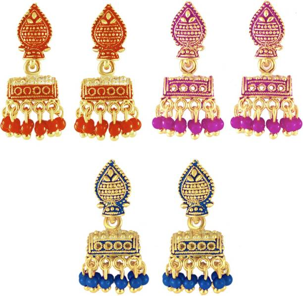 Gold Jhumka - Buy Gold Jhumka online at Best Prices in India