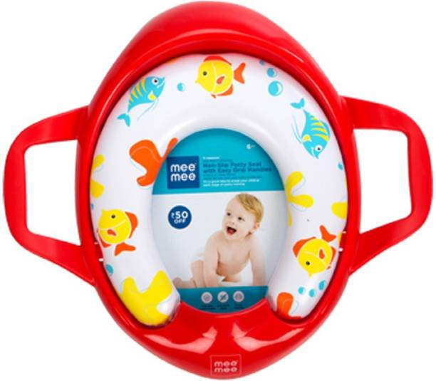 MeeMee Soft Cushioned Potty Seat with Support Handles Potty Seat
