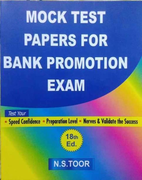 Mock Test Paper For Bank Promotion Exam
